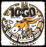 hostel ten to go logo